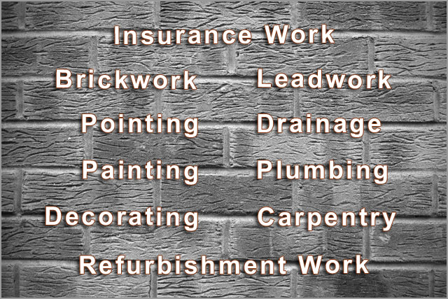Insurance work, Breward Roofing