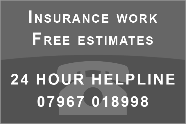 Insurance work, Breward Roofing